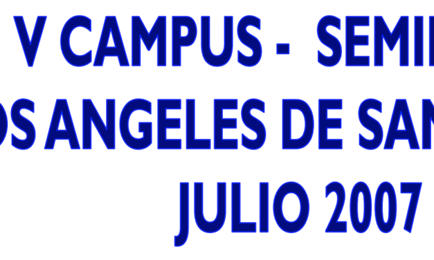 5º Campus: Comité Territorial de Entrenadores – Federación Madrileña.