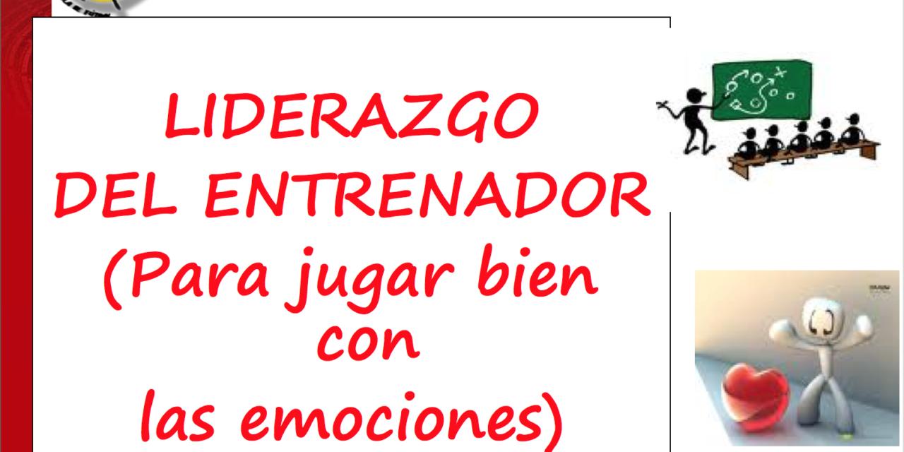 LIDERAZGO DEL ENTRENADOR