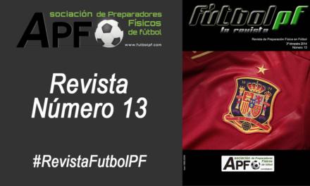 Revista Futbol PF Número 13