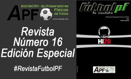 Revista Futbol PF Número 16 Edición Especial