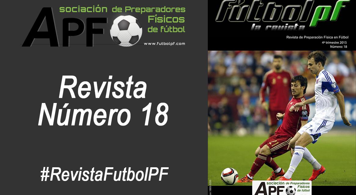 Revista Futbol PF Número 18