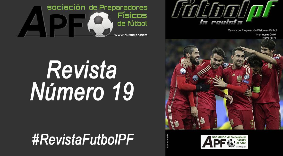 Revista Futbol PF Número 19