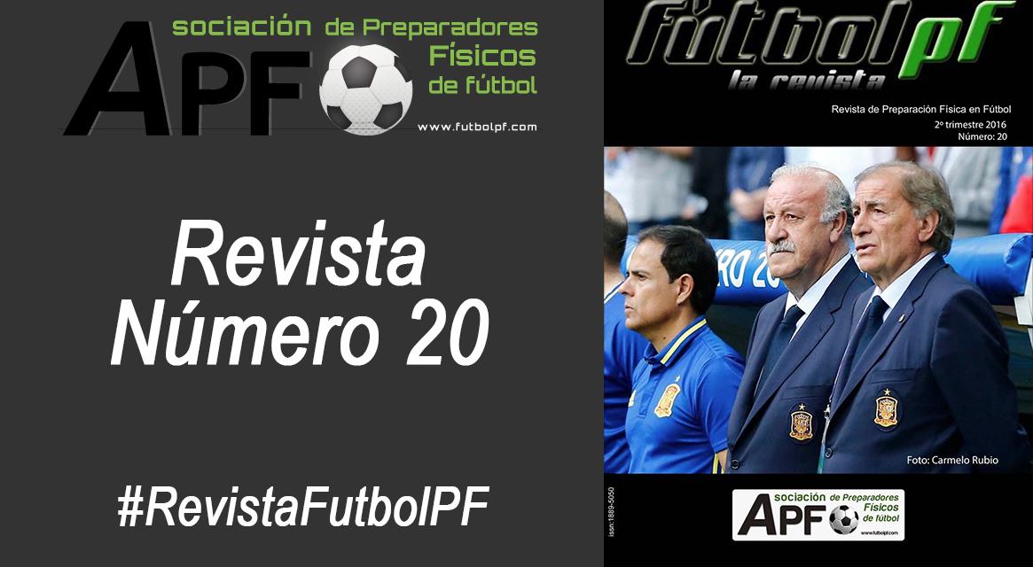 Revista Futbol PF Número 20