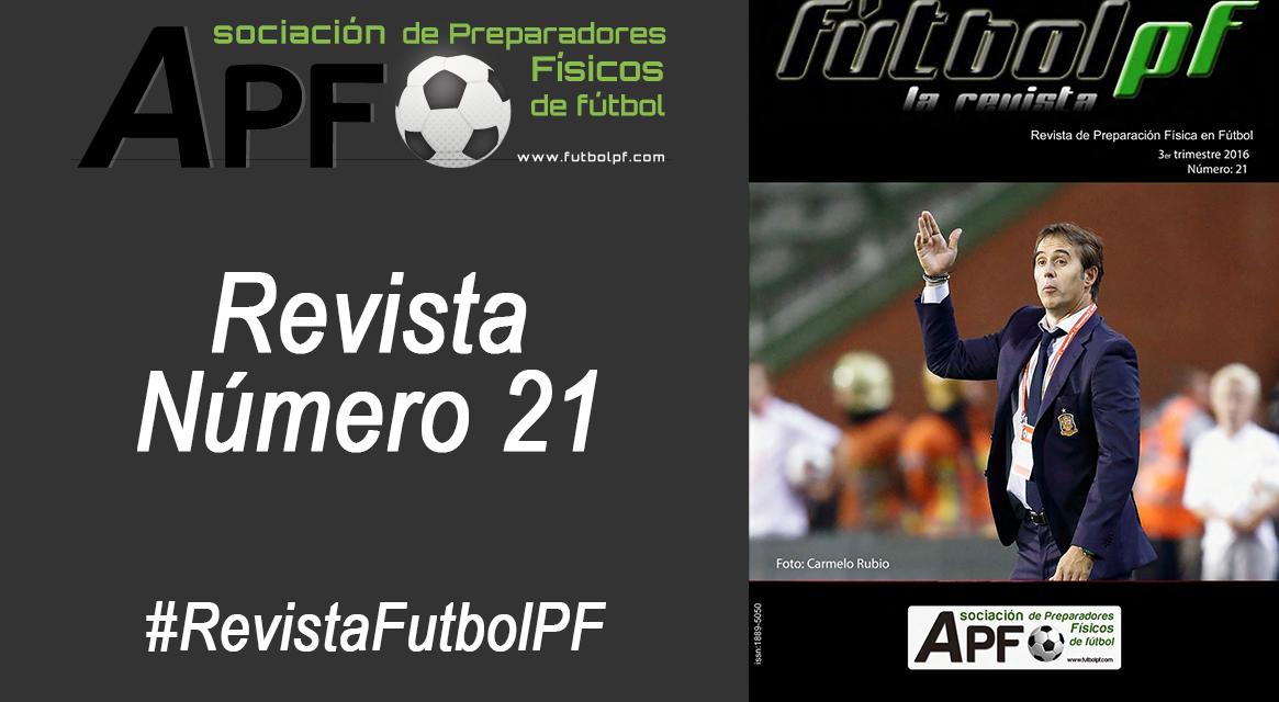 Revista Futbol PF Número 21