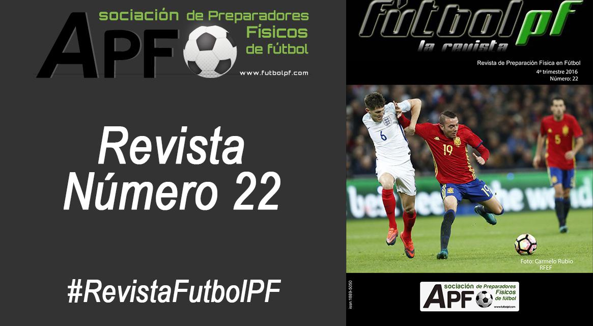 Revista Futbol PF Número 22