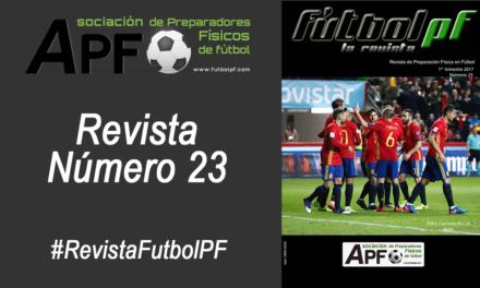 Revista Futbol PF Número 23