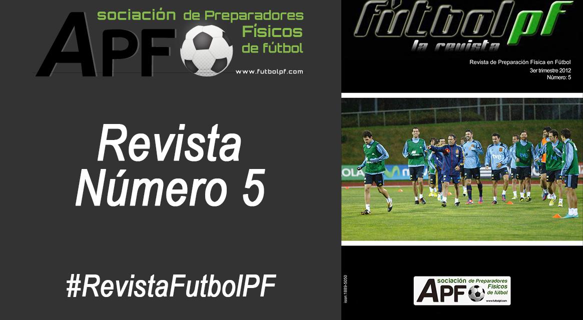 Revista Futbol PF Número 5