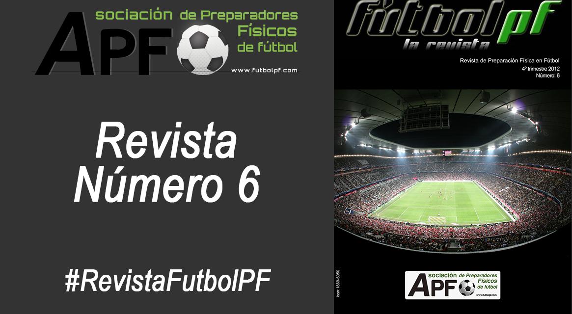 Revista Futbol PF Número 6