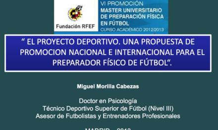 Documentos de la jornada del Master – Miguel Morilla y Pedro Varas