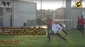 Entrenamiento de la Flexibilidad en Fútbol por Luis Casáis (Práctica)