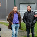 José Ángel García y Javier Miñano visitan Newcastle