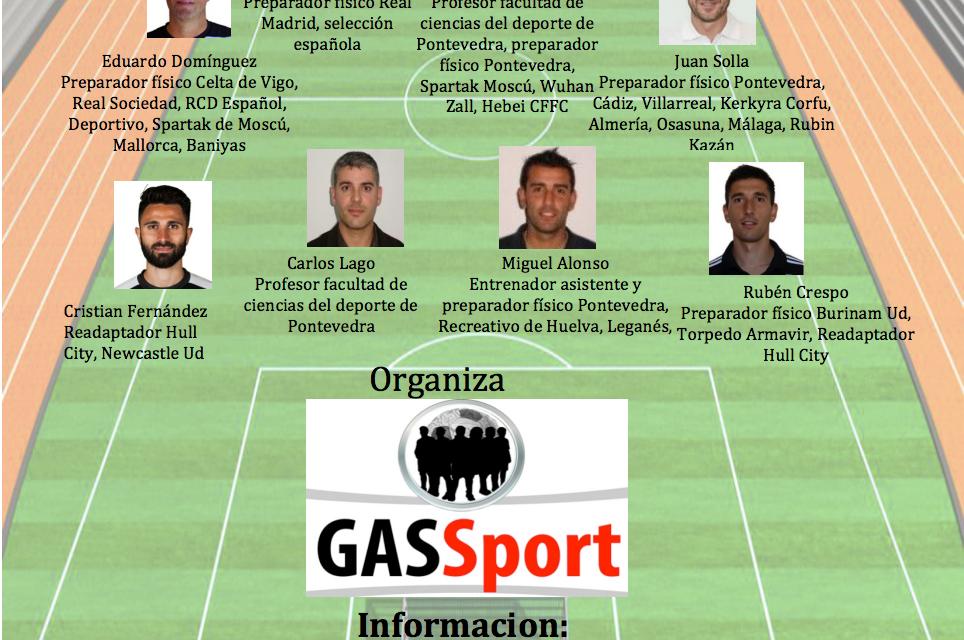 Jornadas de actualización del entrenamiento en fútbol.