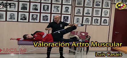 Valoración artro muscular del deportista – Luis Casais