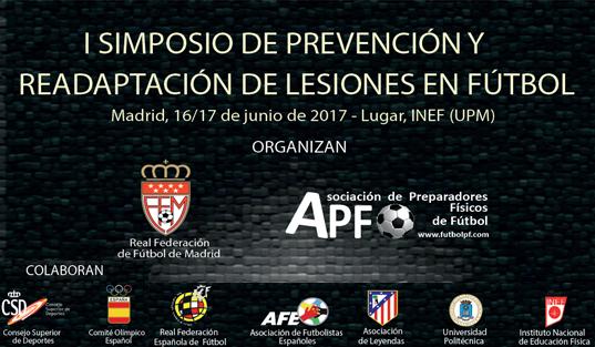I Simposio de prevención y readaptación de lesiones en fútbol