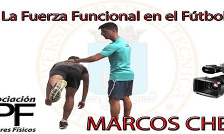 """Video """"La fuerza funcional en fútbol"""" (Marcos Chena)"""
