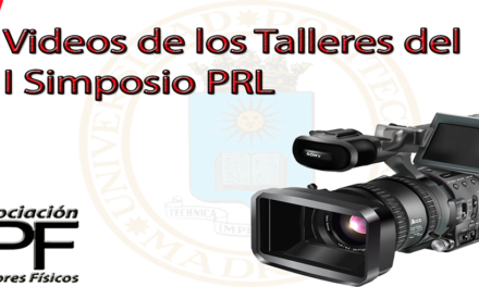 Videos Completos Talleres del I Simposio PRL