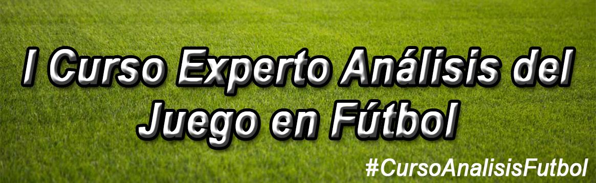 Horario de la Jornada 12 Curso Experto Análisis del Juego en Fútbol