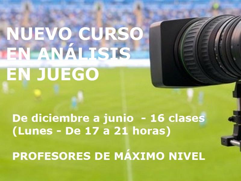 Curso de experto universitario en el análisis del juego en el fútbol