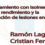 """Video """"Isoinerciales para el rendimiento y la prevención de lesiones"""" (Cristian y Ramon)"""