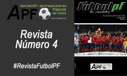Revista Futbol PF Número 4