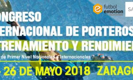 I Congreso internacional de porteros: entrenamiento y rendimiento