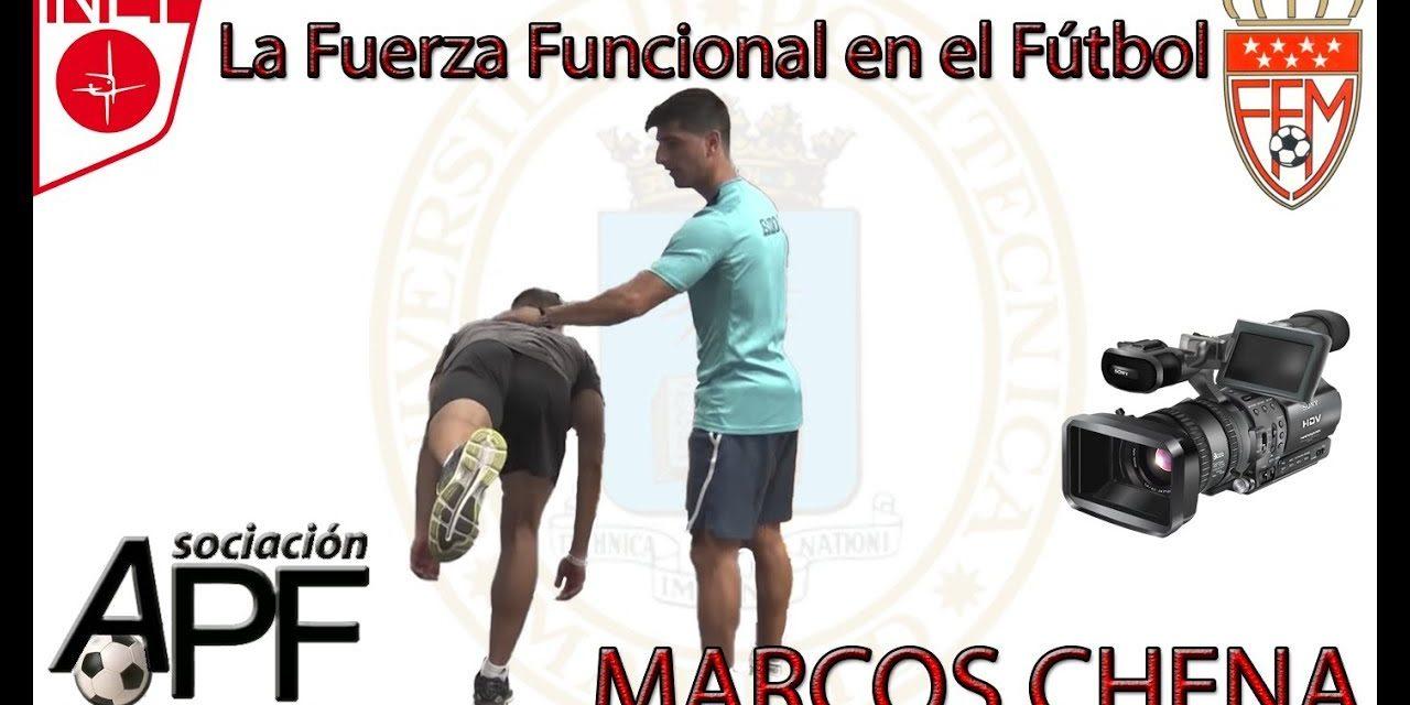 """Video """"La fuerza funcional en fútbol"""" (Marcos Chena) (Completo)"""