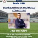 Ponencia de José Luis Oltra (INEF)