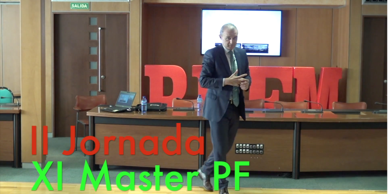 Video 2 Jornada del XI Master PF