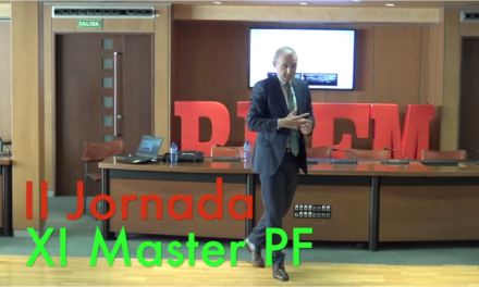 Video 2 Jornada del XI Master PF