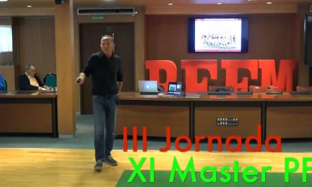 Video 3 Jornada del XI Master PF