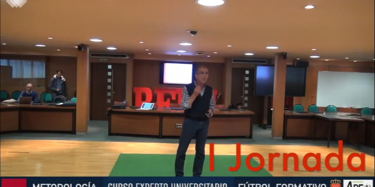 Video 1ª Jornada del I Curso en Dirección Metodológica en Fútbol