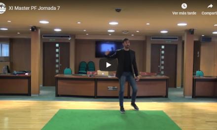 Video 7ª Jornada del XI Master PF