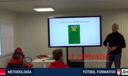 Video 2ª Jornada del I Curso en Dirección Metodológica en Fútbol