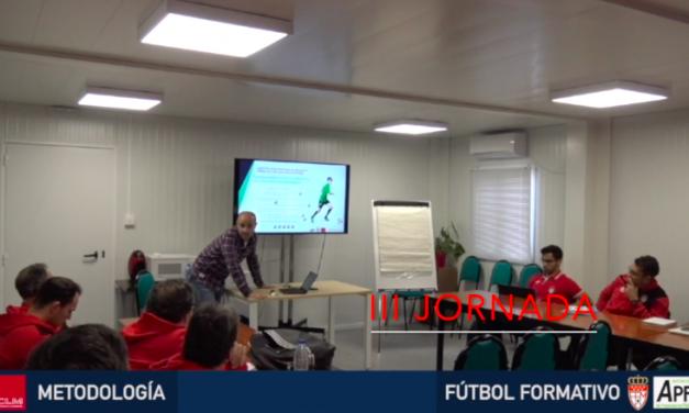 Video 3ª Jornada del I Curso en Dirección Metodológica en Fútbol