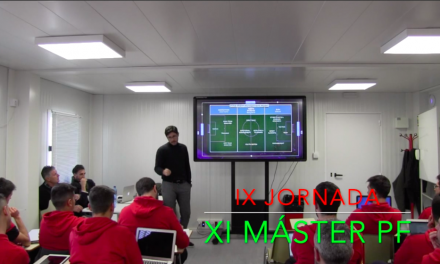 Video 9ª Jornada del XI Máster PF