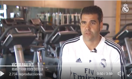 Video del Proceso de Readaptación (Equipo multidisciplinar) Real Madrid