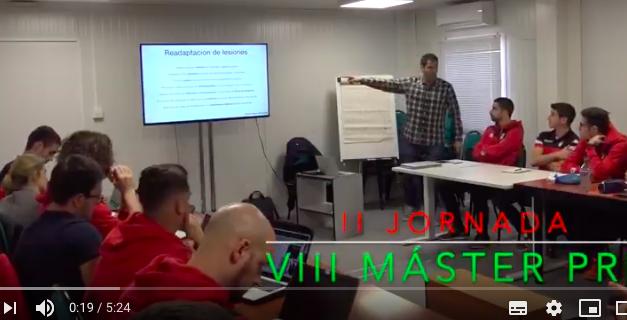 Video 2ª Jornada del VIII Máster PRL