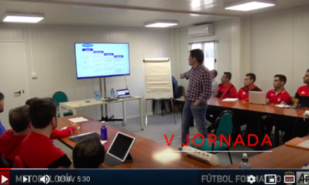 Video 5ª Jornada del I Curso en Dirección Metodológica en Fútbol