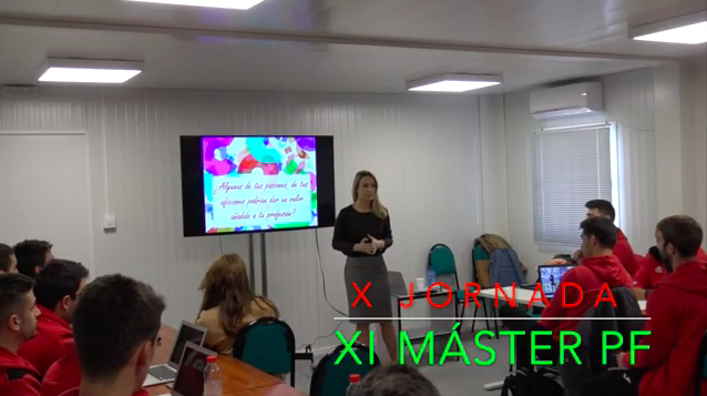 Video 10ª Jornada del XI Máster PF