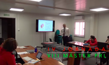 Video 4ª Jornada del VIII Máster PRL