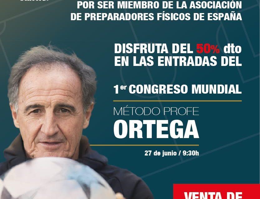 "Congreso mundial ""Método Profe Ortega"""