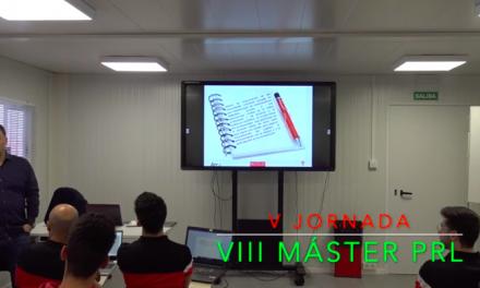 Video 5ª Jornada del VIII Máster PRL