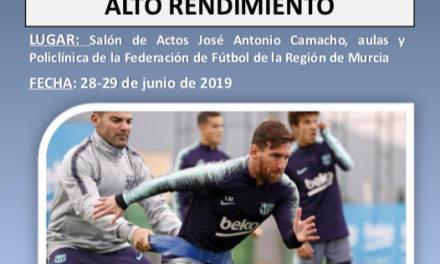Jornadas Preparación Física en Murcia