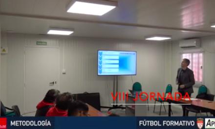 Video 8ª Jornada del I Curso en Dirección Metodológica en Fútbol