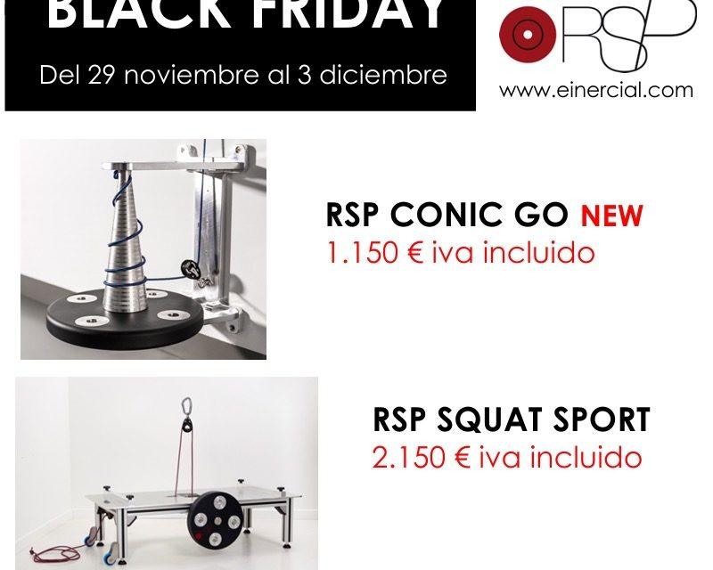 Descuentos Black Friday – Máquinas RSP