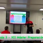 Video 3ª Jornada del XII Máster PF