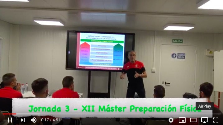 Video 3ª Jornada del XII Máster PF