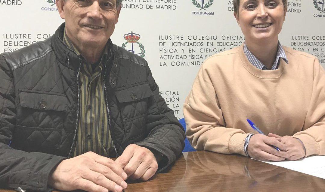 Renovado el convenio entre COPLEF Madrid y APF