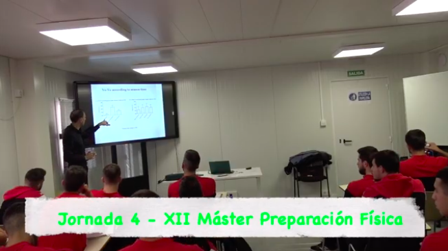 Video 4ª Jornada del XII Máster PF