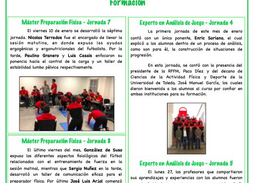 Newsletter Nº11 Enero 2020